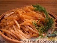 """Фото приготовления рецепта: Салат """"Картофель по-корейски"""" - шаг №9"""