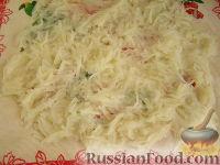 Фото приготовления рецепта: Хэшбраун - американские картофельные оладьи - шаг №4