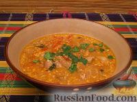 Фото к рецепту: Суп-харчо с курицей