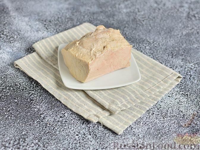 Фото приготовления рецепта: Капустный суп с рисом и сливками - шаг №9