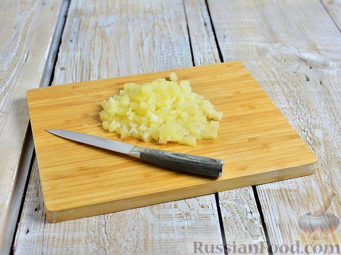 Фото приготовления рецепта: Сметанные лепёшки из дрожжевого теста (в духовке) - шаг №18