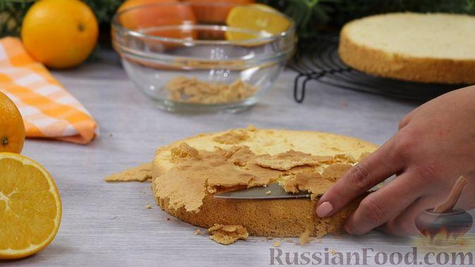 Фото приготовления рецепта: Рисовая каша с апельсином и курагой, на кокосовом молоке - шаг №9