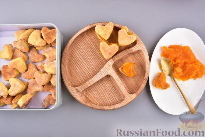 Фото приготовления рецепта: Тушёная капуста с шампиньонами и сладким перцем - шаг №9