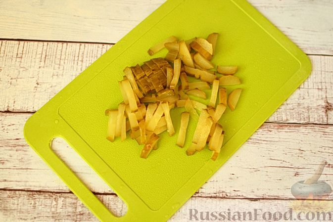 Фото приготовления рецепта: Винегрет с авокадо - шаг №1