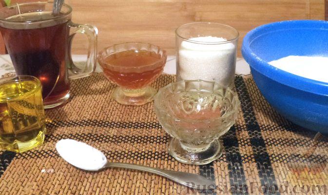 Фото приготовления рецепта: Овсяная каша с творогом и мёдом - шаг №7