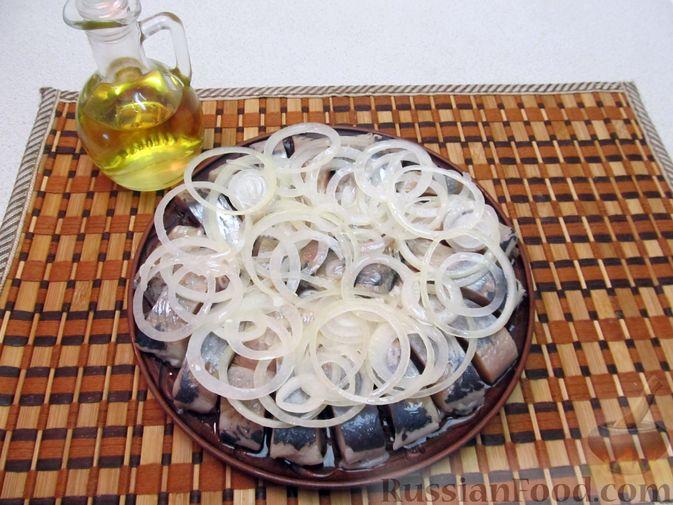 Фото приготовления рецепта: Винегрет с авокадо - шаг №9