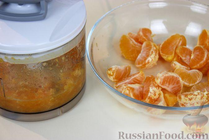 Фото приготовления рецепта: Мандариново-сливочный десерт - шаг №2