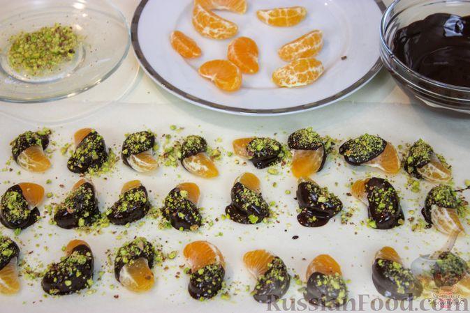 Фото приготовления рецепта: Мандариново-сливочный десерт - шаг №10