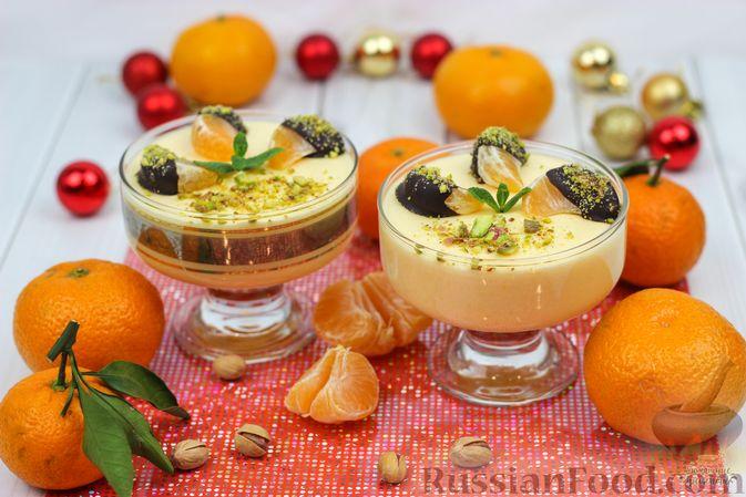Фото приготовления рецепта: Мандариново-сливочный десерт - шаг №11