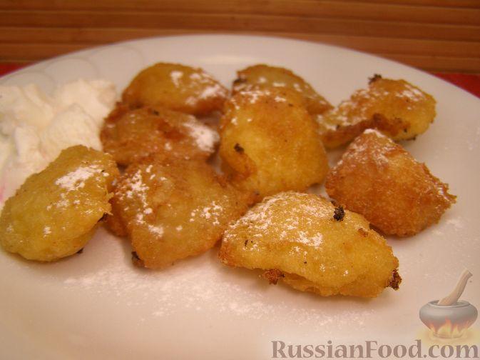 """Рецепт """"Дважды приготовленные"""" сладкие клецки"""