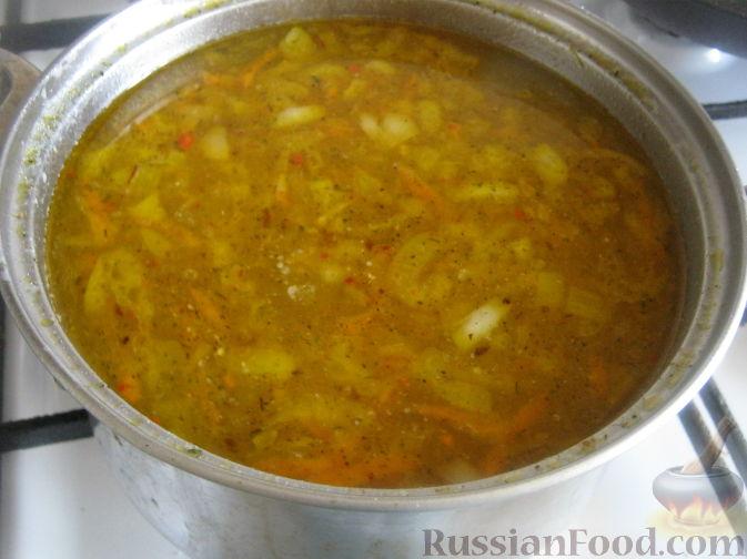 как приготовить суп бес мяса