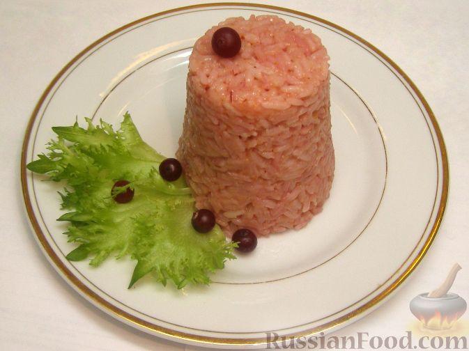 Фото приготовления рецепта: Рис с клюквой - шаг №8