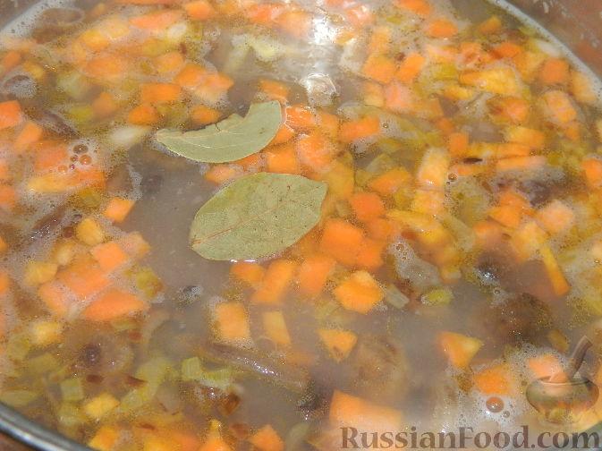 суп опята рецепт с фото
