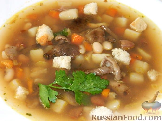 """Рецепт Грибной суп """"Опенок"""""""