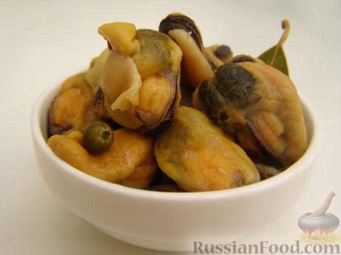 Рецепт Мидии в кисло-сладком маринаде