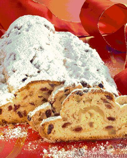 Рецепт Рождественский штолен