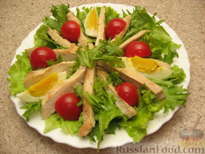 Рецепт салата цезарь самый простой рецепт