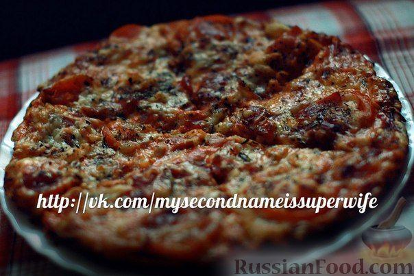 Рецепт Пицца с беконом