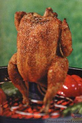 Рецепт Курица, приготовленная на гриле