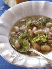 Рецепт Суп из консервированной фасоли