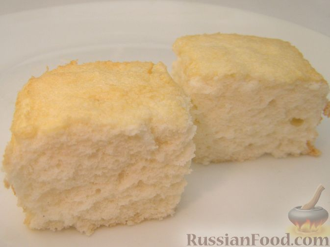 Рецепт Бисквит на белках