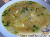 Фото к рецепту: Суп без мяса