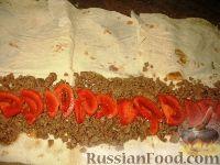 Фото приготовления рецепта: Мясной рулет из лаваша - шаг №3