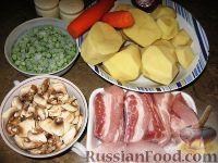 Фото приготовления рецепта: Жаркое по-домашнему - шаг №1