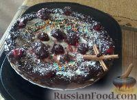 Фото к рецепту: Торт из шампанского с кремом из рикотты