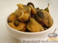 Фото к рецепту: Мидии в кисло-сладком маринаде