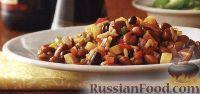 Фото к рецепту: Фасолевое рагу с рисом и овощами (в медленноварке)