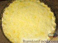 Фото приготовления рецепта: Полтавский луковый пирог от Олега  Кензова - шаг №7
