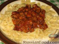 Фото к рецепту: Пасташутта с грибным соусом