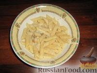 Фото к рецепту: Паста с голубым сыром горгонзола и орехами