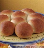 Фото к рецепту: Румяные булочки