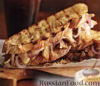 Фото к рецепту: Сэндвичи, но не обычные