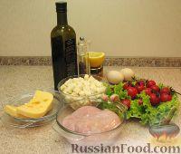 Фото приготовления рецепта: Салат «Цезарь» простой - шаг №1