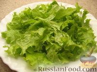Фото приготовления рецепта: Салат «Цезарь» простой - шаг №5