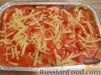 макароны с мясом в духовке с сыром рецепт с фото