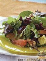 Фото к рецепту: Цитрусовый салат с ананасом