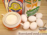 Фото приготовления рецепта: Рецепт бисквитного теста - шаг №1