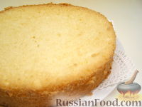 Фото приготовления рецепта: Рецепт бисквитного теста - шаг №9