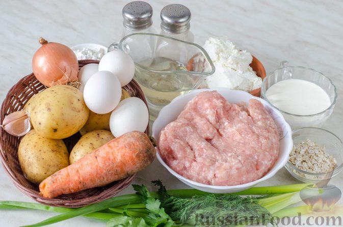 Фото приготовления рецепта: Щи из свежей капусты с обжаренными фрикадельками - шаг №13