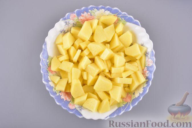 Фото приготовления рецепта: Грибной суп с клецками - шаг №10