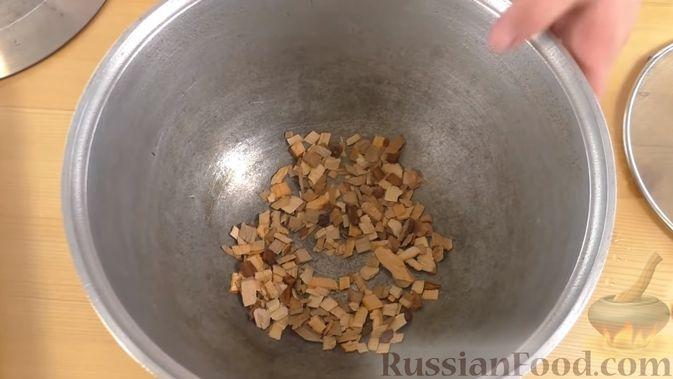 Фото приготовления рецепта: Овсяный крамбл с мандаринами - шаг №11