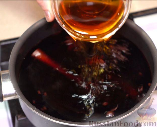 Фото приготовления рецепта: Суп с куриными фрикадельками и вермишелью - шаг №9