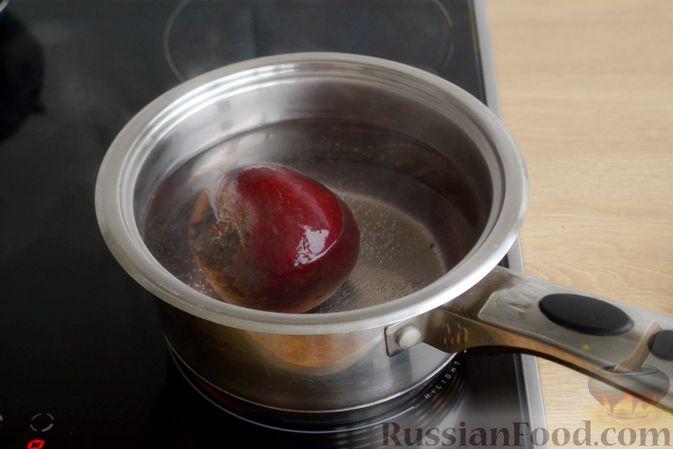 Фото приготовления рецепта: Яблочный тарт с заварным кремом и ореховой корочкой - шаг №31