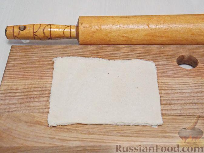 Фото приготовления рецепта: Овсяные батончики с апельсином, бананом и арахисом - шаг №4
