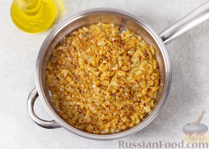 Фото приготовления рецепта: Икра из тыквы с помидорами и чесноком - шаг №3