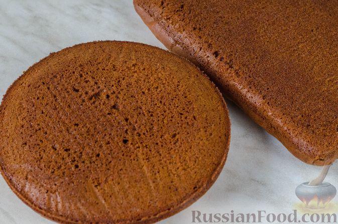 Фото приготовления рецепта: Постные кексики с какао и зелёным чаем - шаг №3